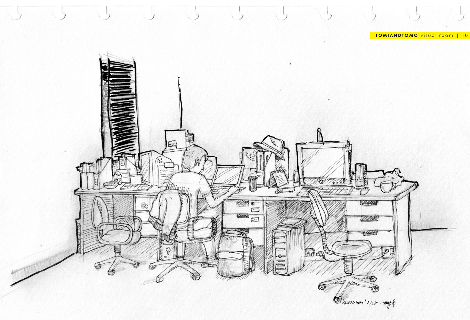 office drawing. \ office drawing c