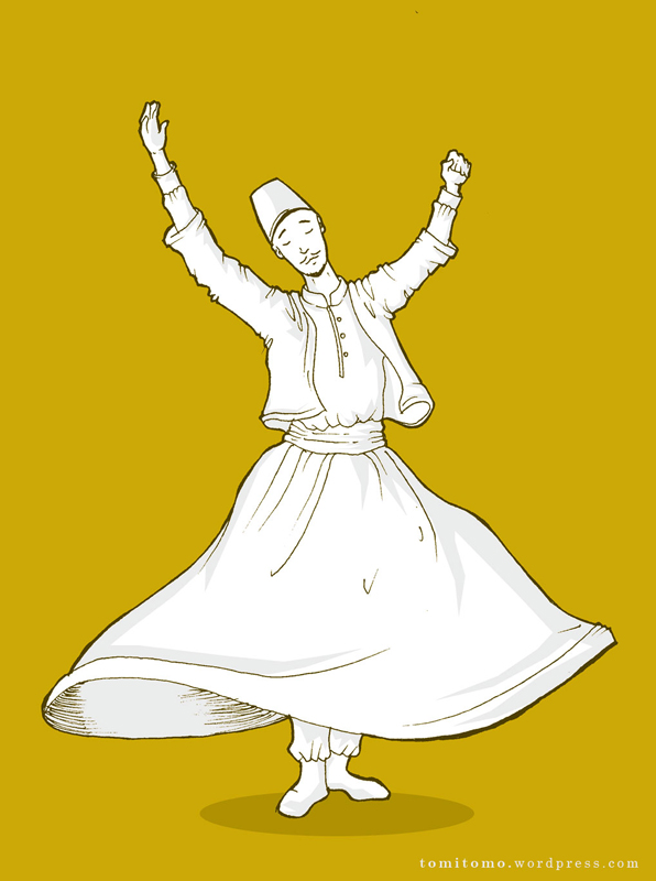Dervish Dance Drawing The Whirling Dervish | Drawing